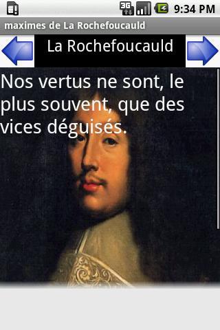 maximes de la Rochefoucauld