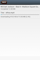 Screenshot of DLV: Video Download Downloader