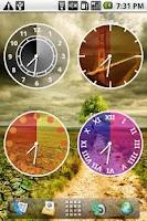 Screenshot of Androidlet Clock Widget