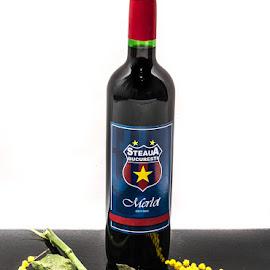 Steaua Bucarest wine... by Macinca Bogdan - Food & Drink Alcohol & Drinks