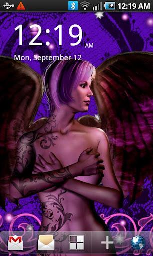 自由天使紋身