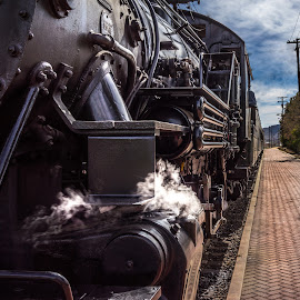Ventura County #2 Steam Engine by Craig Collins - Transportation Trains ( #2, engine, county, ventura, steam, color, colors, landscape, portrait, object, filter forge )