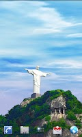 Screenshot of Rio Live Wallpaper - Corcovado