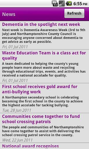 NCC - Northamptonshire