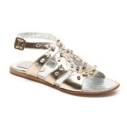 Andrea Montelpare Gem Cut Out Sandal SANDAL