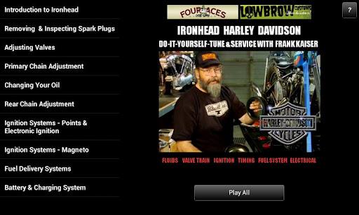 Ironhead Harley Service Guide
