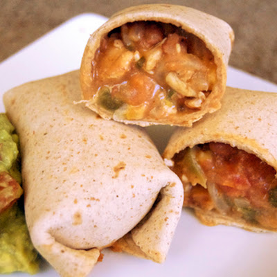 Baked Tex-Mex Egg Rolls