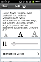 Screenshot of Shona Bible Free