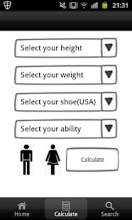 Snowboard Size Calculator FREE - screenshot