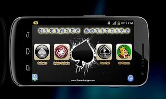 Screenshot of Ultimate Solitaire