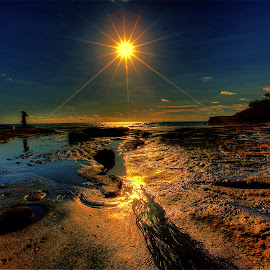 Waiting for Sunset by NC Wong - Landscapes Beaches ( bali, seascape, tanah lot )