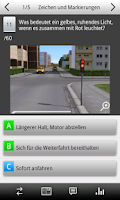 Screenshot of e.driver 2014 Theorieprüfung