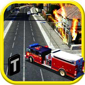 Cover art Fire Truck Emergency Rescue 3D