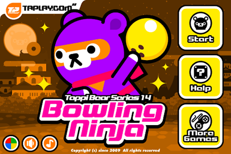 Tappi Bear - Bowling Ninja - screenshot