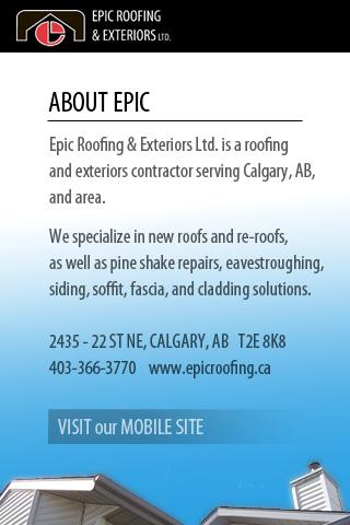 Epic Roofing