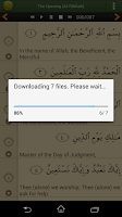 Screenshot of Quran Lite (Pickthall)