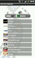 Screenshot of Desi Sat Pakistan