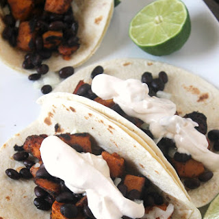 Chipotle Sweet Potato Black Bean Tacos