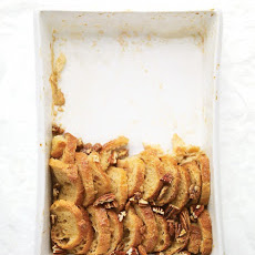 Maple-Pecan Bread Pudding