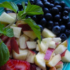 Family Fun's Red, White & Blueberry Fruit Salad