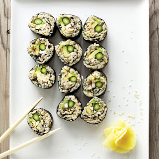 Asparagus Sushi Recipes