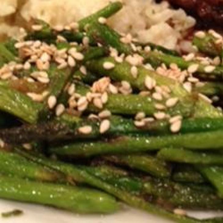 Stir-Fried Sesame Asparagus Recipe | Yummly