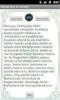 Screenshot of Namaz Dua Ve Sureler(Sesli)