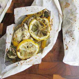 Spiced Baked Chicken Parcels (Chicken en Papillote)