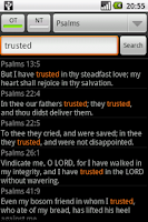 Screenshot of Holy Bible (RSV)