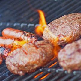 Summer BBQ by Richard Jones III - Food & Drink Meats & Cheeses