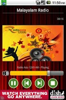 Screenshot of Malayalam Radio