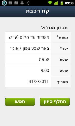 Israel Train Travel