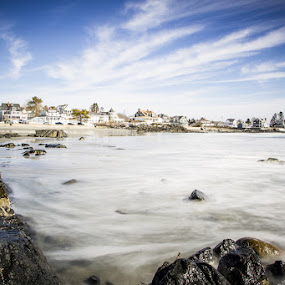 Maine Beach by Habashy Photography - Landscapes Beaches ( water, sky, maine, kennebunk, beach )