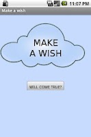 Screenshot of Make a wish