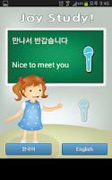 Screenshot of Joy Study - Translation