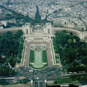 Trocadero, Paris France by Jim Westcott - City,  Street & Park  Historic Districts ( city parks, parks, historic buildings, cityscape, landscapes )