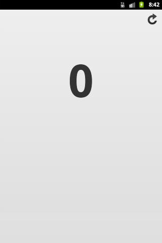 計數器的Android