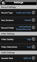 Screenshot of Display Recorder Preview