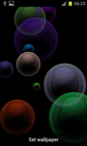 Bubbler Live Wallpaper