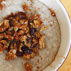 Cinnamon Apple Spiced Oatmeal
