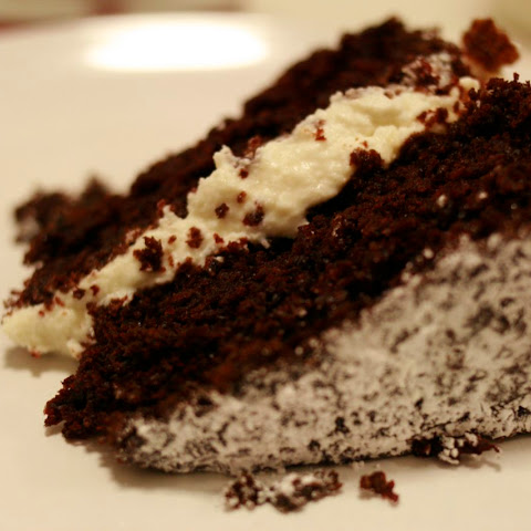 Chocolate Cake with Fresh Ricotta Filling
