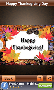 Thanksgiving Day SMS & Images - screenshot