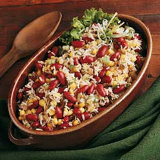 Southwestern Rice and Bean Salad