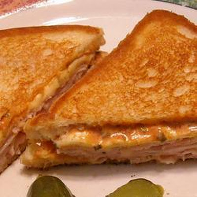 Turkey and Cheddar Toasties