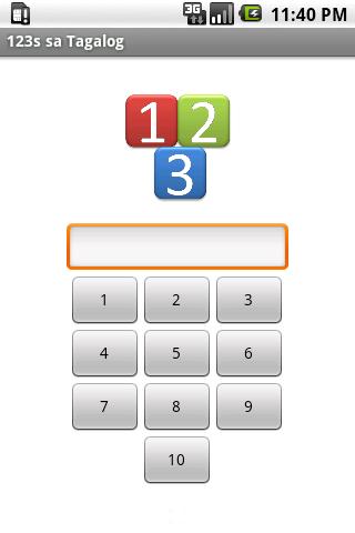 123s山他加祿語