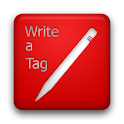 Write a Tag icon