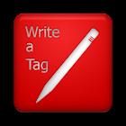 Write a Tag icon