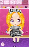 Screenshot of Dress Up - Doll Salon