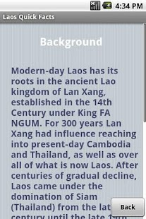 Laos Quick Facts - screenshot