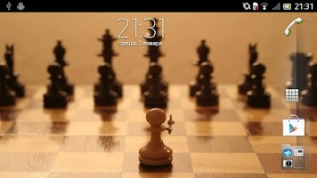 Screenshot of Chessboard Live Wallpaper